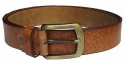 Casual Grain Leather Belt