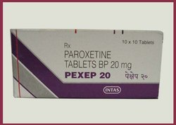 Paroxetine Tablets BP 20 Mg