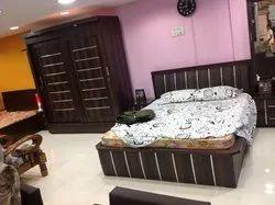 Plywood Bedroom Set, Size: 6feet*7feet Wardrobe, Warranty: More Than 5 Year