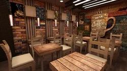 Cafe Interior Design Service, Work Provided: Wood Work & Furniture, 23