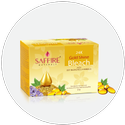 Saffire Herbal 24k Gold Shine Bleach, For Personal & Parlour, Packaging Size: 25 G & 300 G