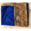 GP-D165 Chiffon Golden Lace Nazmin Dupatta