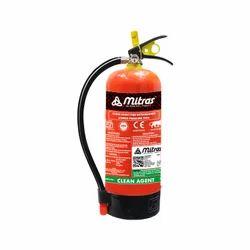 Mitras Clean Agent Fire Extinguisher
