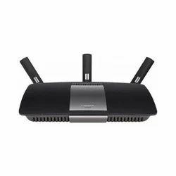 Black Modem Router