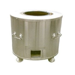 Stainless Steel CYLINDRICAL TANDOORI, Capacity: 100