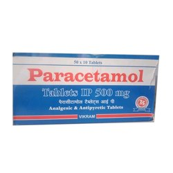 Paracetamol Tablets IP 500 Mg