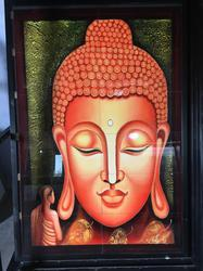 Buddha Wall Picture Tiles