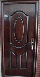 Standard Brown Steel Door, Single, Thickness: 50 Mm