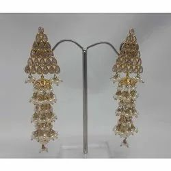 14K Gold Dangling Earring