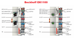 BECKHOFF ek1100 EK 1100 ek-1100 ethercat Koppler-used
