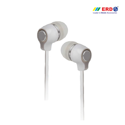 Hf-20 White/ Silver Earphone