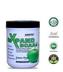 Boost Energy Monster Series eXpand BCAA's Green Apple 210 gm, Powder
