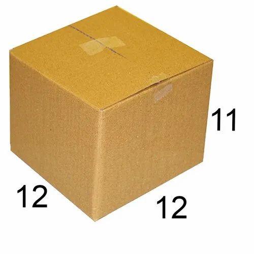 Rectangular Corrugated Carton Box