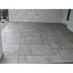 Stampcrete Pathway Flooring Service