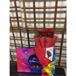Rose Bunch With Celebrations Chocolate