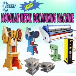 GI Modular Box Making Machine