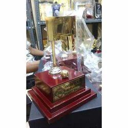 Basketball Metal Trophy