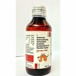 Ambroxol Hydrochloride Terbutaline Sulphate Guaiphenesin & Menthol Syrup