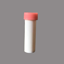 1 Dram White Homeopathic Plastic Bottle