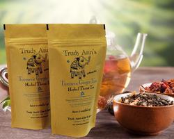 Herbal Throat Tea Packaging