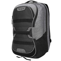 Targus Work and Play Fitness TSB94404AP 15.6-inch Laptop Backpack (Gray and Black)