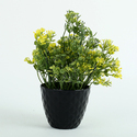 Hyperboles Ceramic Potted Artificial Plant