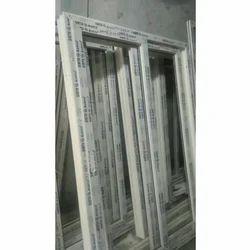 White Highly Durable UPVC Window Frame