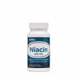 Gnc Niacin 250Mg 100 Tablets