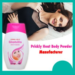 Personal care products - Glohills Prickly Heat Body Powder