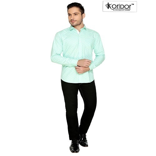 Men' s Cotton Full Sleeve Plain Shirt
