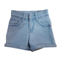 Girls Denim Blue Shorts