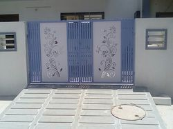 Mild Steel Designer Door