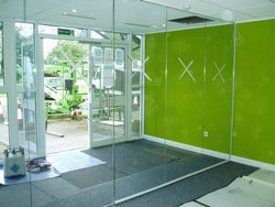 Laminated Toughened Glass Partition