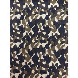 Printed Army Fabric