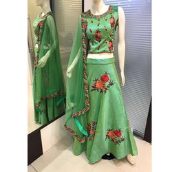 Embroidered Ladies Lehenga