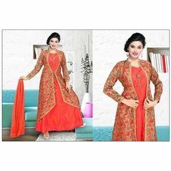 Ladies Jacket Anarkali Suit