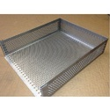 Round Hole Perforated Tray