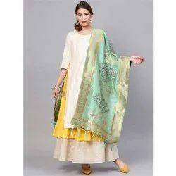 Zarika Hit Color Vol 9 Banarasi Silk Dupatta