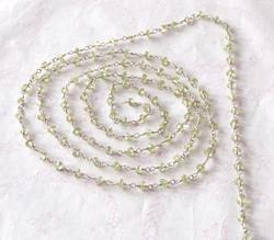 Natural Peridot Chain
