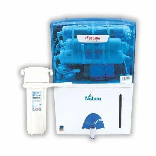 15 LPH Nasaka Natura RO UV Water Purifier