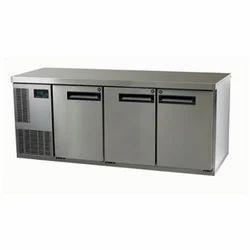 Under Counter Stainless Steel Refrigerator