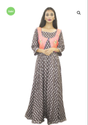 Womens Kurti With Embroidered Jacket