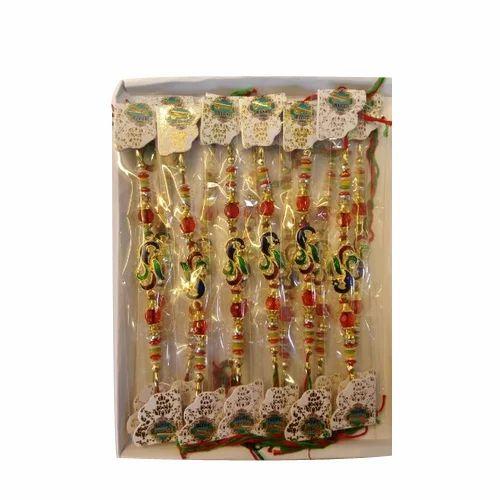 Moti Handmade Rakhi, Packaging Type: Packet