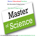 MSc Dissertation Writing Services