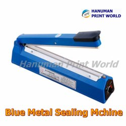Blue Metal Sealing Machine