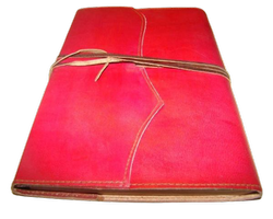 Wrap Handmade Leather Journal Notebook