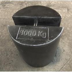 1 Ton Round Shape Cast Iron Weight (Round Beral Drum Shape)