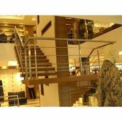 Stainless Steel Bar Stair Railing