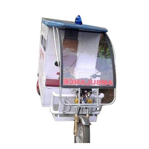 Three Wheeler E Rickshaw Ambulance