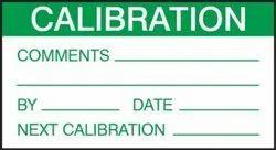 Calibration Labels